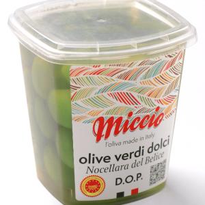 "Grüne Oliven ""Nocellara del Belice D.O.P."""