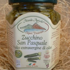 Sott' olio extravergine Zucchino San Pasquale 270 g