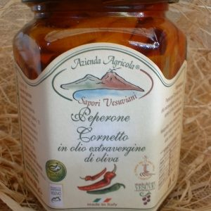 Sott' olio extravergine Peperone Cornetto 270 g